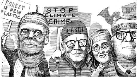 Pääkirjoitus   Suomalaisten yritysten tulee vaatia tiukkoja ilmastotoimia