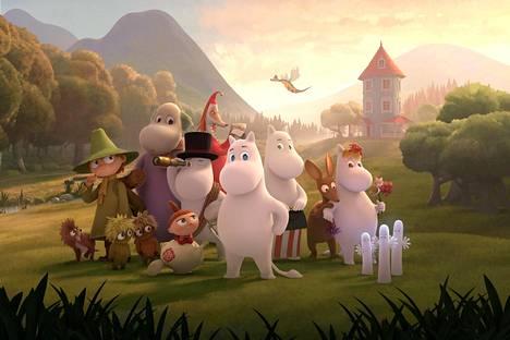 Uusi Muumilaakso-animaatiosarja alkaa Ylellä helmikuussa.