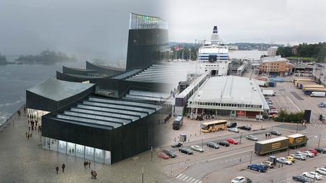 Guggenheim Helsinki sijoittuisi Eteläsataman alueelle yli 18000 neliömetrin tontille, joka on tällä hetkellä suurimmaksi osaksi parkkipaikkana.
