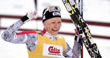 Anne Kyllönen tuuletti uransa kymmenettä henkilökohtaista Suomen mestaruutta.