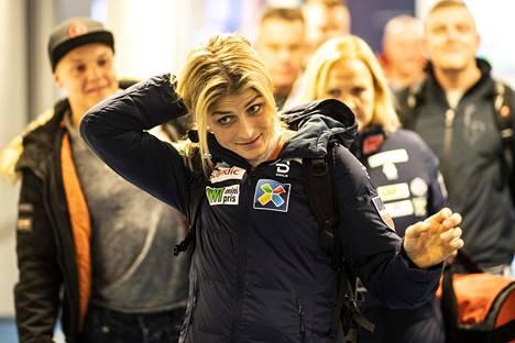 Therese Johaug on mukana Norjan joukkueessa.