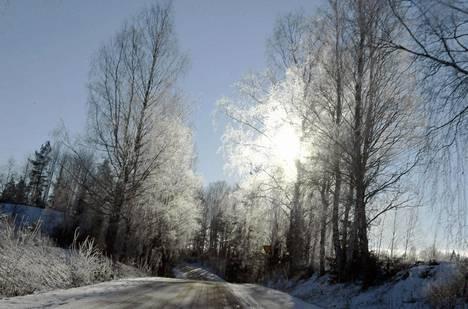 Aurinko paistoi torstaina Kiskossa.