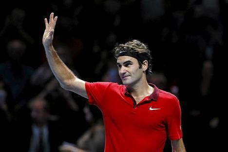 Roger Federer on ollut viidesti maailmanlistan ykkönen kauden päätteeksi.