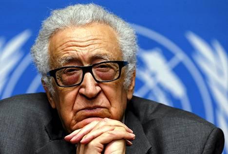 Lakhdar Brahimi ehti palvella YK:n nimittämänä välittäjänä kaksi vuotta.