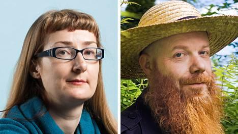 Emmi Itäranta ja Heikki Kännö kuulevat kirjojensa henkilöhahmojen äänet.