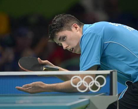 Benedek Oláh kuvattuna Rion olympialaisissa viime kesänä.