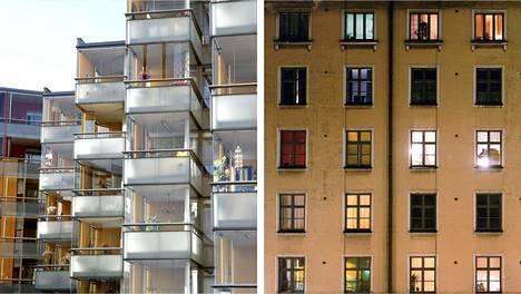 Kaupunkikeskuksiin valmistuu nyt vilkkaasti uusia asuntoja. HS kertoo, mitä kannattaa huomioida uuden ja vanhan omistusasunnon välillä puntaroidessa.
