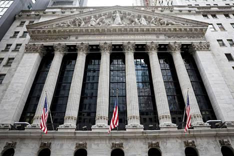 New Yorkin pörssin sisäänkäynti