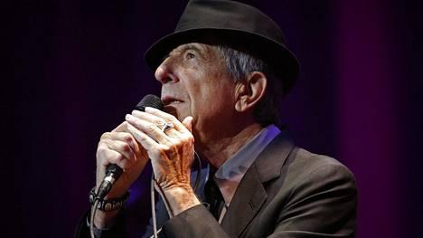 Marraskuussa 2016 kuollut Leonard Cohen on esillä monin tavoin. Häneltä ilmestyy myös uutta musiikkia pian. Kuva on otettu maaliskuussa 2013 Tampassa Floridassa.