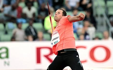 Tero Pitkämäki oli tyytyväinen heittotekniikkaansa Oslossa, vaikka voittotulos 84,18 olisi saanut olla parempi.