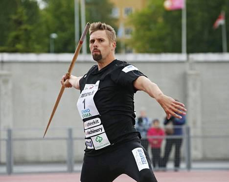 Antti Ruuskanen palasi tositoimiin Oulussa.