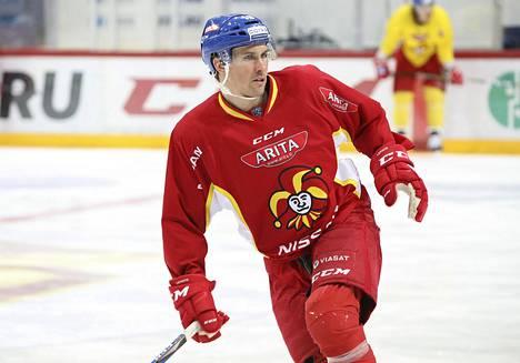 Sami Lepistö pelasi pitkän uransa viimeisen kautensa Jokereissa.