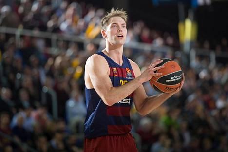Petteri Koponen on vakiinnuttanut paikkansa Barcelonassa.