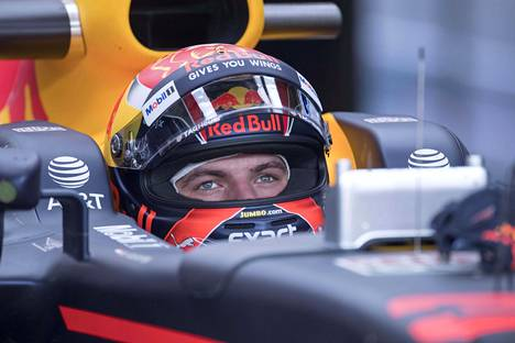 Max Verstappen joutui tiukkojen sääntöjen uhriksi.