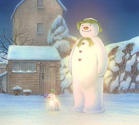 Tutun Lumiukko-animaation lailla myös Lumiukko ja lumikoira <br />-animaatio piirrettiin käsin.