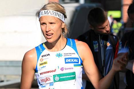Minna Kauppi sijoittui yhdeksänneksi maailmancupin sprintissä Imatralla