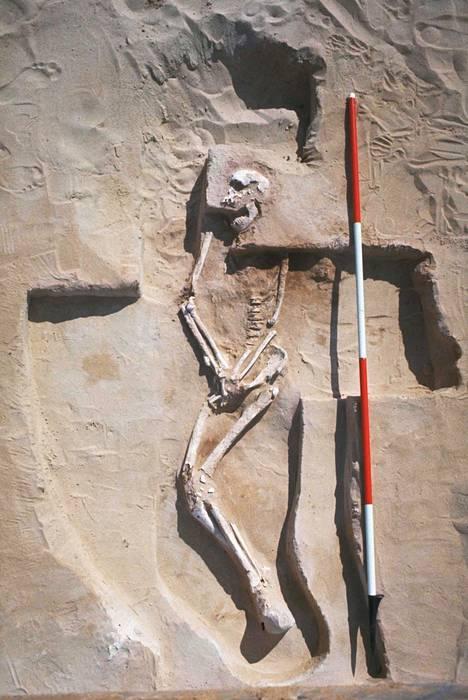 Mungon ihmisen jäännöksillä on ikää noin 40000 vuotta.