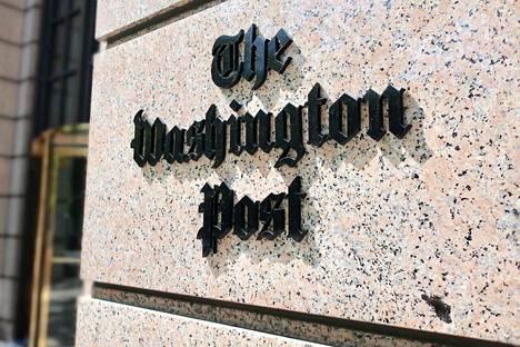 The Washington Post -sanomalehden toimistorakennus Washington D.C.:ssä Yhdysvalloissa toukuussa 2019.