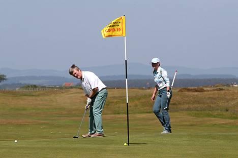 Golfarit pääsivät pelaamaan St. Andrewsin Old Course -kentällä viime toukokuussa.