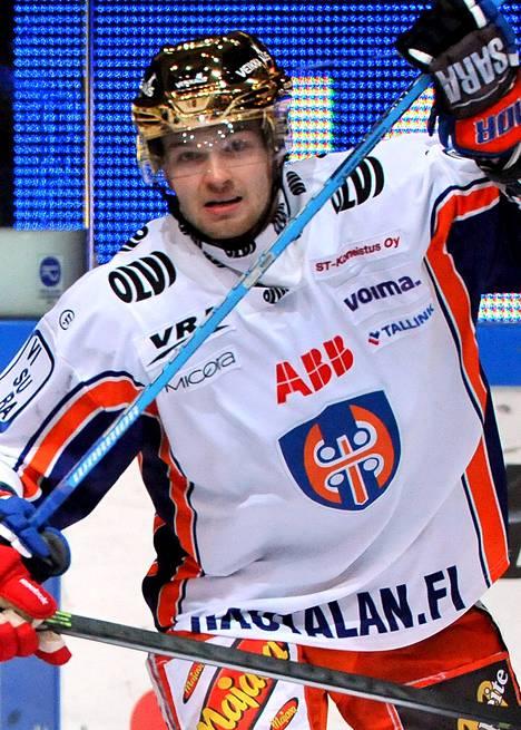 Jarkko Malinen iski Tapparalle voittomaalin.