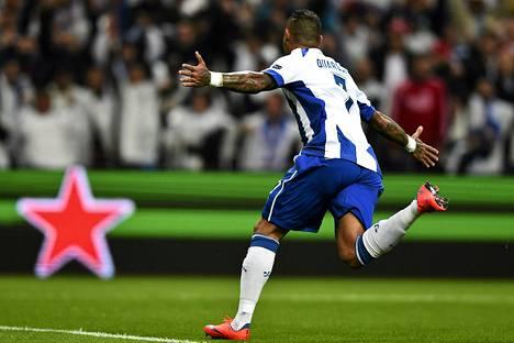 Porton Ricardo Quaresma teki Bayernia vastaan kaksi maalia Mestarien liigan puolivälierissä keskiviikona.