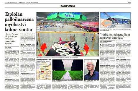 Helsingin Sanomat 16.6.2006