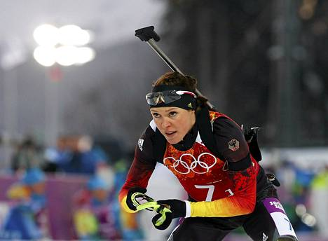 Saksalainen ampumahiihtäjä Evi Sachenbacher-Stehle on antanut positiivisen dopingnäytteen.