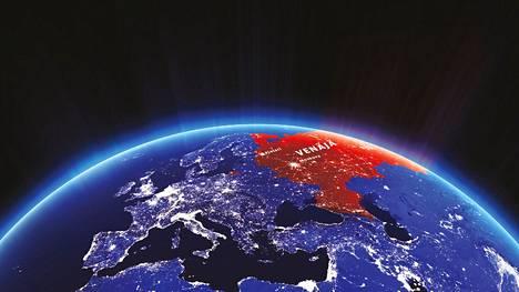 NASA, kuvan käsittelu Juha-Pekka Laitinen / HS