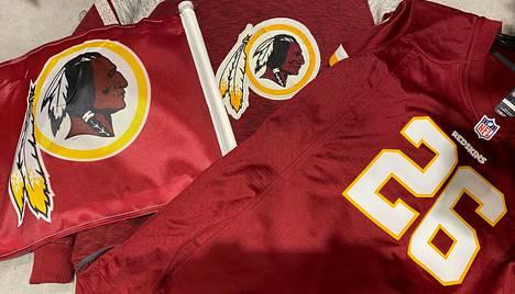 Niken verkkokaupasta ei löytynyt perjantaina Washington Redskinsin fanituotteita.