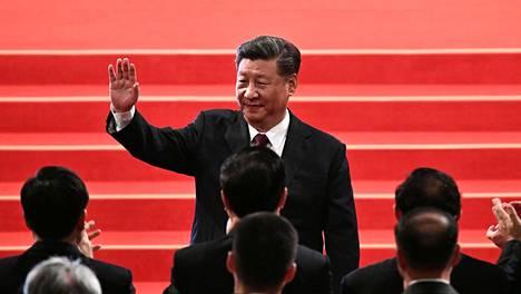 Kiinan presidentti Xi Jinping Macaossa joulukuussa.