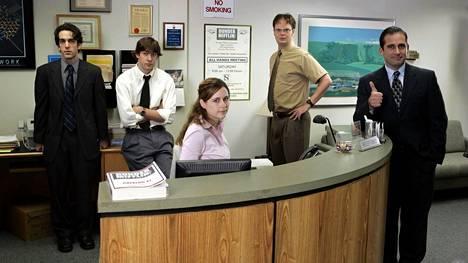 Konttori (2005–2013) on Netflixin tärkein ja internetin ylivoimaisesti striimatuin tv-sarja.