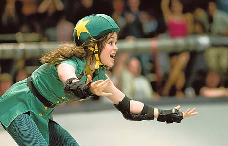 Bliss (Ellen Page) on haka roller derbyssä.