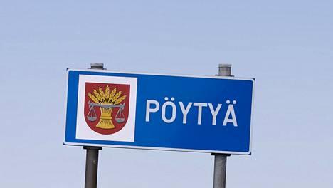 Pöytyän kunta sijaitsee Varsinais-Suomessa.