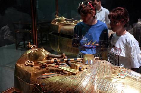 Tutankhamon hallitsi muinaista Egyptiä vuosina 1333–1324 ennen ajanlaskumme alkua.