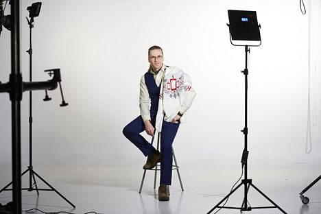 Mikko Hyppönen sai HS:n teknologian piilovalta -villapaidan.