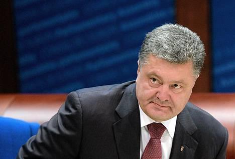 Ukrainan presidentti Petro Poroshenko