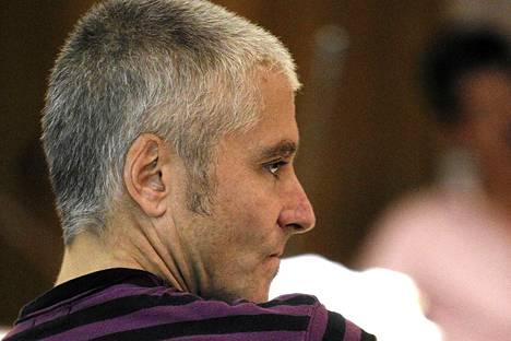 Javier Garcia Gaztelu oikeudenkäynnissä Madridissa viime viikon keskiviikkona.