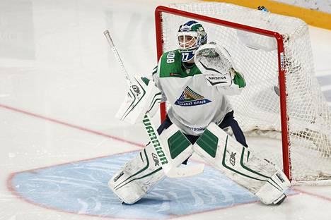 Juha Metsola oli vahvassa vireessä Jokereita vastaan.