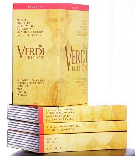 The Verdi Edition on säveltäjän 200-vuotisjuhlan keskeisiä julkaisuja.