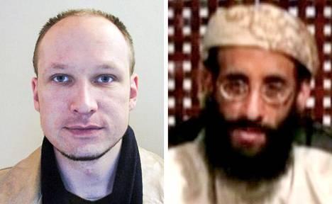 Anders Breivik ja Anwar al-Awlaki.