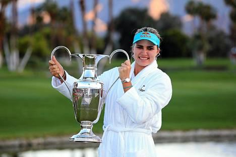 Lexi Thompsonista tuli toiseksi nuorin major-voittaja LPGA-kiertueella.