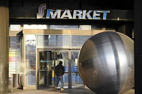 S-market Helsingin Hakaniemen Ympyrätalossa.