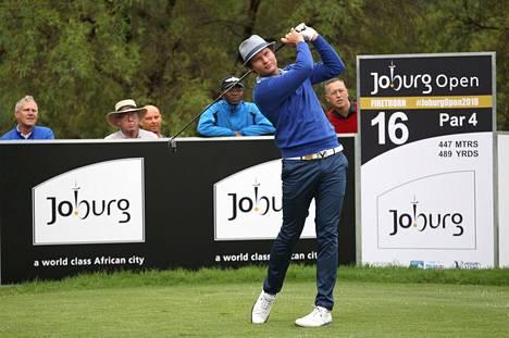Tapio Pulkkanen golfasi jaetulle kolmannelle sijalle Johannesburgissa.