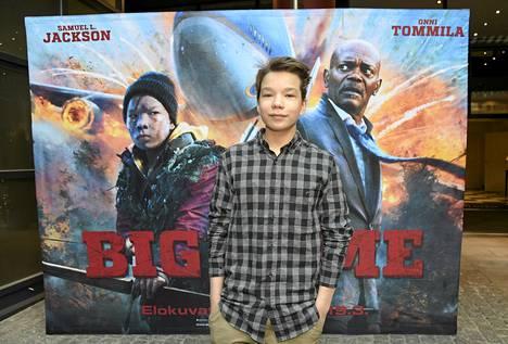 Onni Tommila esittää Big Gamessa 13-vuotiasta Oskaria, joka päättää auttaa Pohjois-Suomen erämaahan pudonnutta Yhdysvaltain presidenttiä (Samuel L. Jackson).