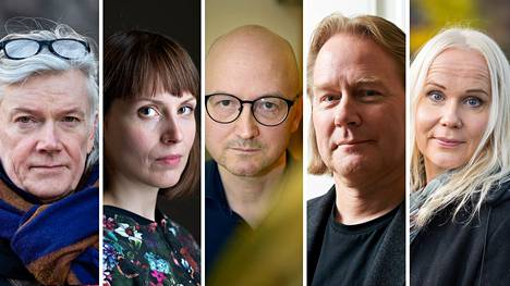Tuomas Nevanlinna, Katri Saarikivi, Jukka Laajarinne, Matti Häyry ja Elisa Aaltola