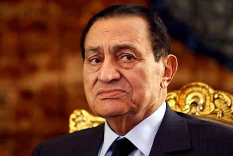 Hosni Mubarak kuvattuna vuonna 2010.