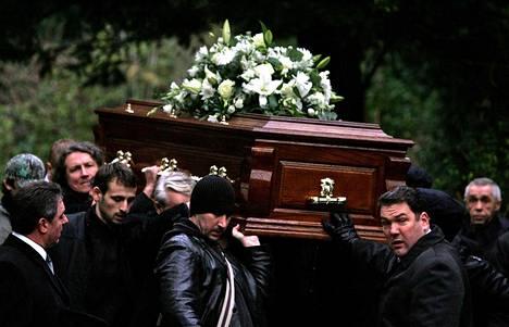 Polonium-myrkytykseen kuollut Aleksander Litvinenko haudattiin Lontoossa joulukuussa 2006.