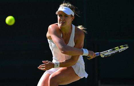 Kanadalainen Eugenie Bouchard oli yleisön suosikki Wimbledonin välierässä.