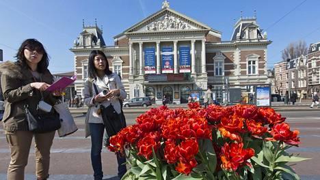 Concertgebouw valmistui Amsterdamiin vuonna 1888.