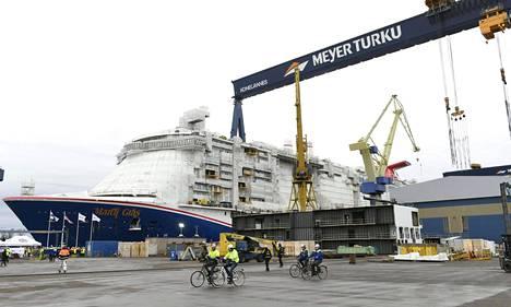 Carnival-varustamon tilaaman Carnival Mardi Gras -risteilyaluksen vesillelaskuseremonia pidettiin Meyerin Turun-telakalla 24. tammikuuta 2020.